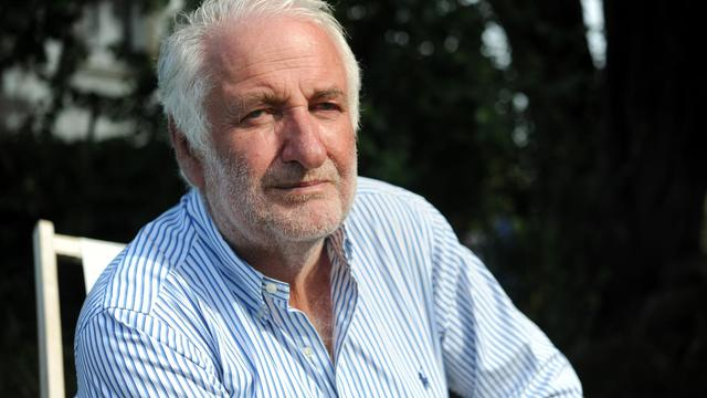 L'ancien patron du groupe pétrolier Elf, Le Floch-Prigent, le 20 août 2012 chez lui à Trébeurden, en France [Fred Tanneau / AFP/Archives]