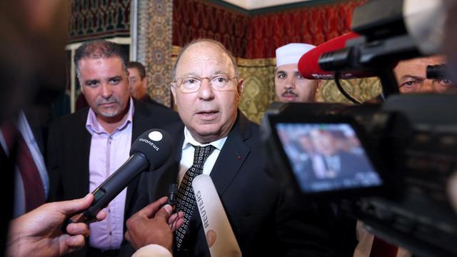 Dalil Boubakeur, recteur de la Grande mosquée de Paris, le 19 septembre 2012 [Thomas Samson / AFP]