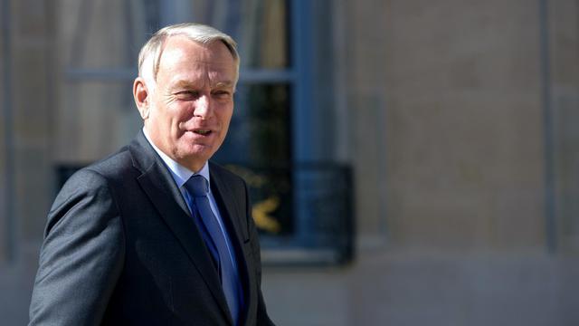 Jean-Marc Ayrault le 19 septembre 2012 à Paris [Bertrand Langlois / AFP]