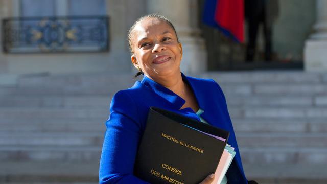Christiane Taubira, ministre de la Justice, le 19 septembre 2012 à Paris [Bertrand Langlois / AFP]