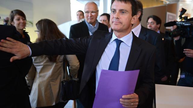 Manuel Valls à Dijon, le 20 septembre 2012 [Philippe Desmazes / AFP]