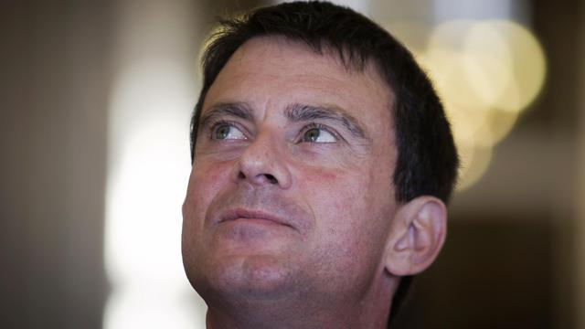 Le ministre de l'Intérieur Manuel Valls, le 21 septembre 2012 à Marseille, dans le sud est de la France [Joel Saget / AFP]