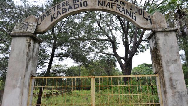 Le cimetière de Kabadio Niafrang à Ziguinchor au Sénégal, le 20 septembre 2012 [Seyllou / AFP/Archives]