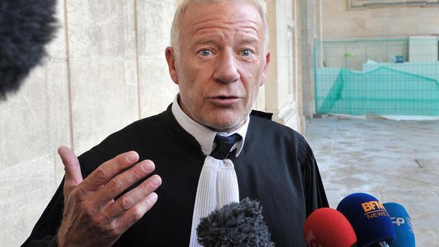 Edouard Marcial, avocat des victimes, au tribunal de Bordeaux, le 24 septembre 2012 [Pierre Andrieu / AFP]