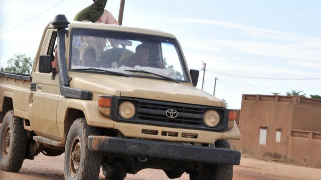 Des groupes armés font des rondes à Gao, dans le nord du Mali, le 21 septembre 2012 [Issouf Sanogo / AFP/Archives]