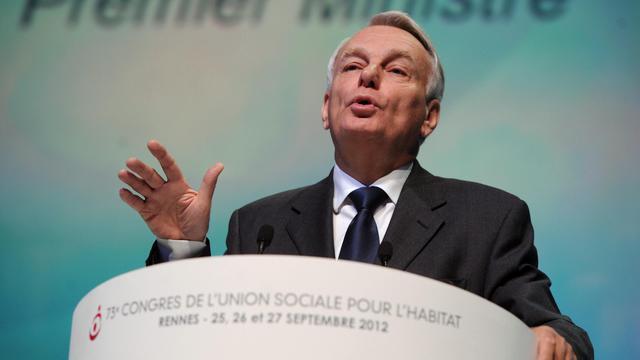 Jean-Marc Ayrault à Rennes, le 25 septembre 2012 [Jean-Francois Monier / AFP]