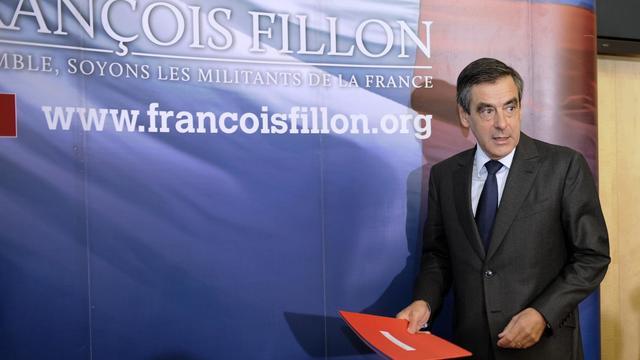 François Fillon, le 26 septembre 2012 à l'Assemblée nationale à Paris [Bertrand Guay / AFP]