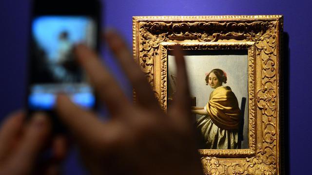 L'exposition Vermeer le 26 septembre 2012 à Rome [Gabriel Bouys / AFP]