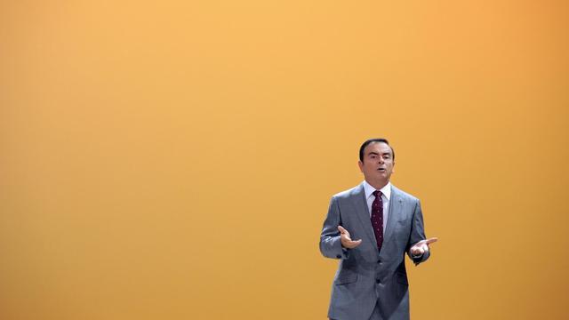 Carlos Ghosn, le patron de Renault, le 27 septembre 2012 au Mondial de l'automobile à Paris [Eric Piermont / AFP]
