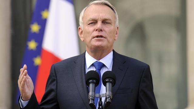 Jean-Marc Ayrault le 28 septembre 2012 à la sortie du Conseil des ministres à l'Elysée [Bertrand Guay / AFP]