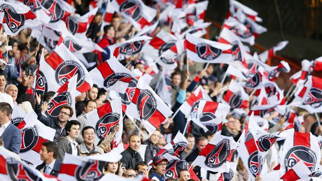 Des supporteurs du PSG dans les tribunes du Parc des Princes pour le match de L1 PSG-Sochaux, le 29 septembre 2012. [Kenzo Tribouillard / AFP/Archives]