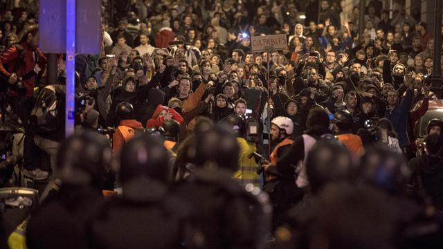 Manifestation contre l'austérité à Madrid, le 29 septembre 2012 [Dani Pozo / AFP]