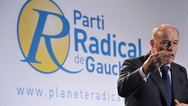 Jean-Michel Baylet, président du Parti radical de gauche, au congèrs du PRG au Parc floral à Paris, le 30 septembre 2012 [Mehdi Fedouach / AFP]