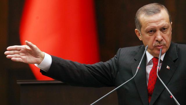 Le Premier ministre turc Recep Tayyip Erdogan à Ankara, le 2 octobre 2012 [Adem Altan / AFP]