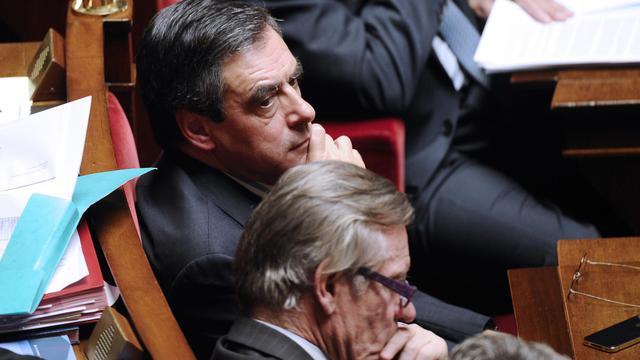 L'ancien Premier ministre François Fillon à l'Assemblée nationale le 2 octobre 2012 [Lionel Bonaventure / AFP]