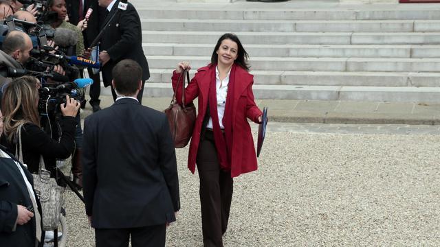 La ministre de l'Egalité des territoires et du Logement Cécile Duflot, le 3 octobre 2012 à Paris [Jacques Demarthon / AFP/Archives]
