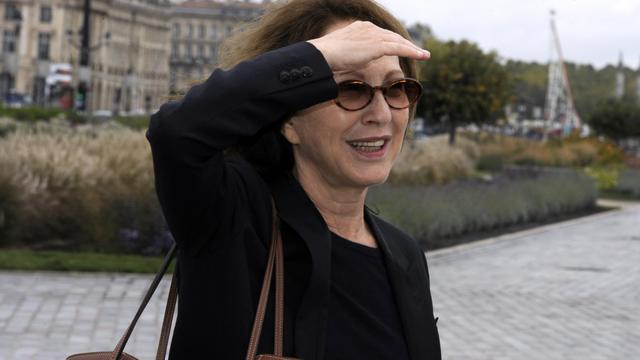 L'actrice Nathalie Baye le 3 octobre 2012 [Jean-Pierre Muller / AFP]