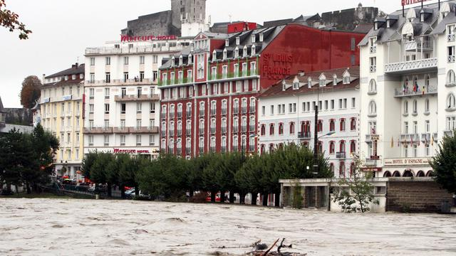 Vue de Lourdes, le 20 octobre 2012 [Laurent Dard / AFP]
