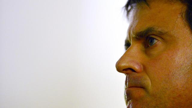 Manuel Valls, le 5 novembre 2012 à Rome [Gabriel Bouys / AFP]