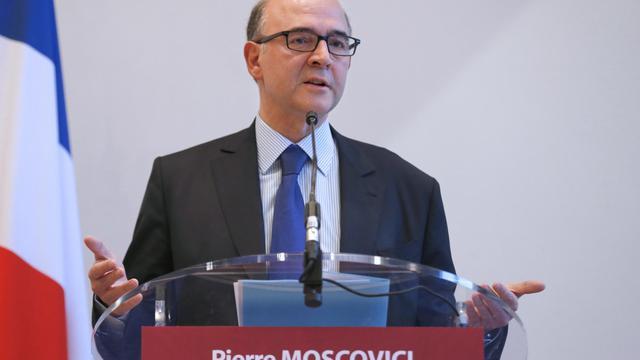 Pierre Moscovici en conférence de presse à Paris, le 20 novembre 2012 [Francois Guillot / AFP]