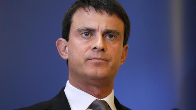 Le ministre de l'Intérieur, Manuel Valls, le 8 décembre 2012 à Paris [Kenzo Tribouillard / AFP/Archives]
