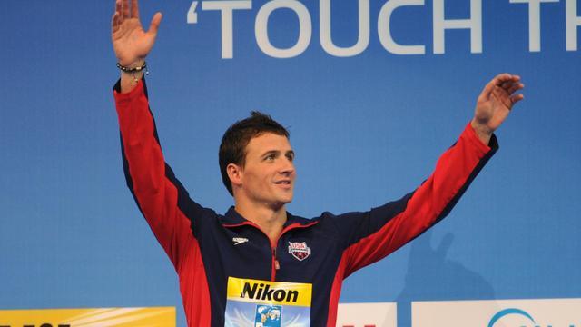 L'américain Ryan Lochte après avoir remporté le 200 m 4 nages le 14 décembre 2012 aux Mondiaux-2012 à Istanbul [Mira / AFP]