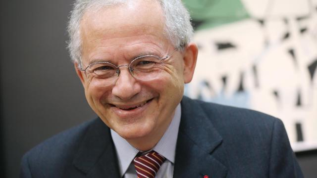 Olivier Schrameck, nouveau président du CSA, le 23 janvier 2013 à Paris [Thomas Samson / AFP]