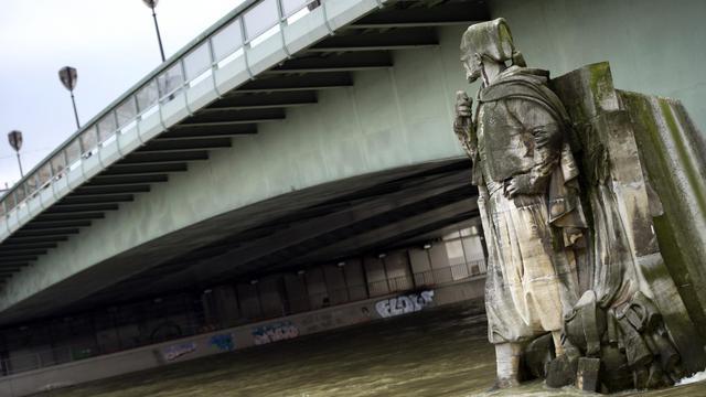 Le niveau de la Seine pourrait dépasser 3,50 mètres cette semaine.