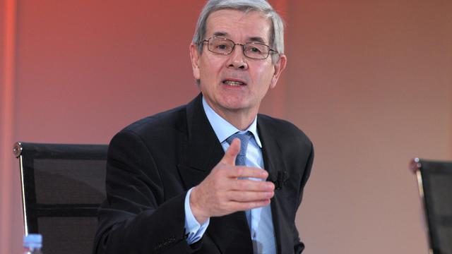 Le patron de PSA Peugeot Citroën, Philippe Varin, le 13 février 2013 à Paris [Eric Piermont / AFP]