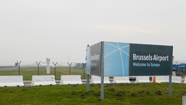 L'aéroport de Bruxelles, le 19 février 2013, en Belgique