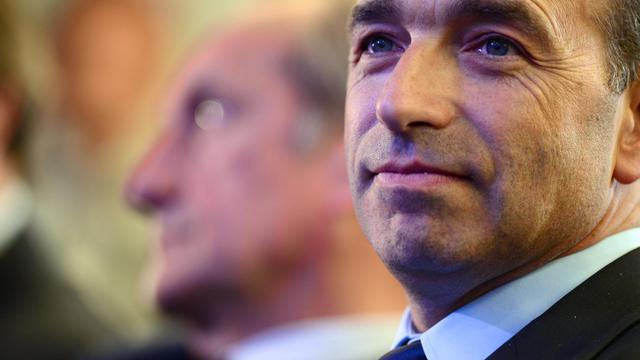 Jean-François Copé, président de l'UMP, le 15 mai 2013 à Paris [Martin Bureau / AFP]