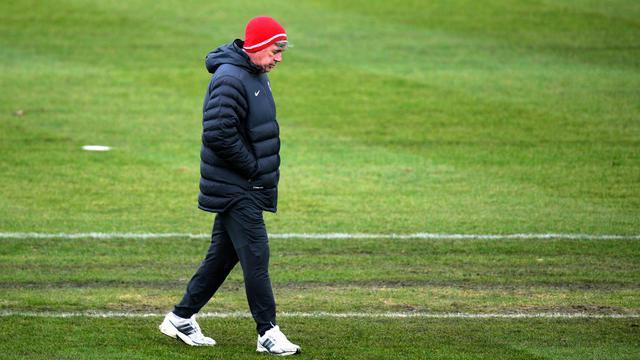 L'entraîneur du PSG Carlo Ancelotti avant le match de Ligue des champions contre le FC Porto, le 3 décembre 2012, à Saint-Germain-en-Laye, près de Paris [Franck Fife / AFP/Archives]