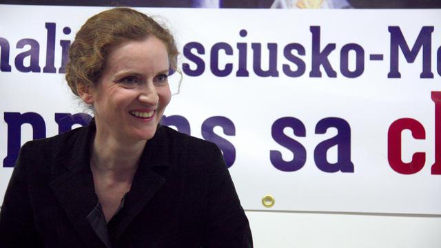 Nathalie Kosciusko-Morizet (UMP), le 21 mai 2013 à Paris [Matthieu Rater / AFP]