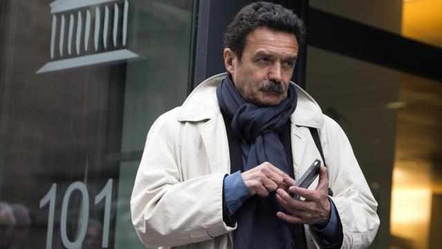 Le fondateur de Mediapart Edwy Plenel, le 21 mai 2013 à Paris [Joel Saget / AFP]