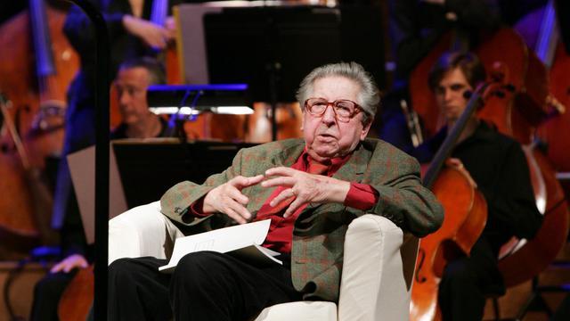 Henri Dutilleux, le 3 mai 2007 à Paris [Pierre Verdy / AFP/Archives]