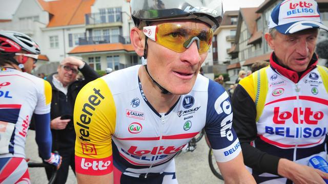 Le coureur allemand Andre Greipel le 22 mai 2013 à Knokke-Heist le 22 mai 2013 après sa victoire dans la 1ere étape du Tour de Belgique [David Stockman / AFP]