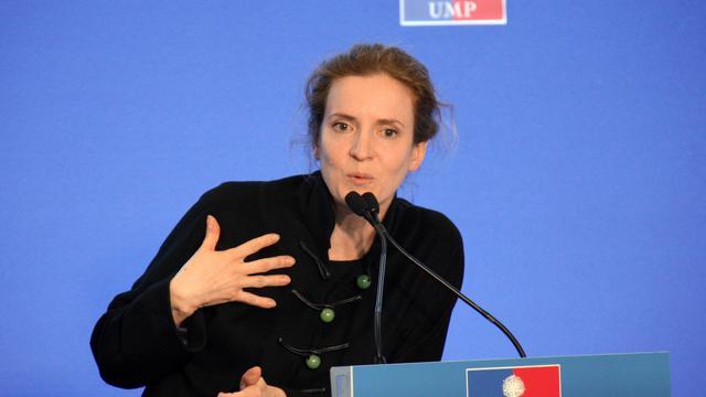 Nathalie Kosciusko-Morizet tient une conférence de presse à Paris le 22 mai 2013 [Matthieu Rater / AFP/Archives]