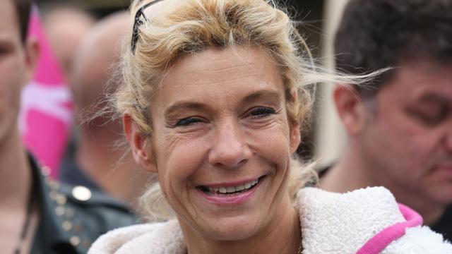 Virginie Tellene alias Frigie Barjot le 26 mai 2013 à Paris [Thomas Samson / AFP/Archives]