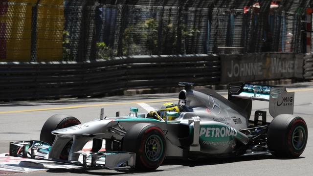 L'Allemand Nico Rosberg lors du GP de Monaco le 26 mai 2013 [Tom Gandolfini / AFP]