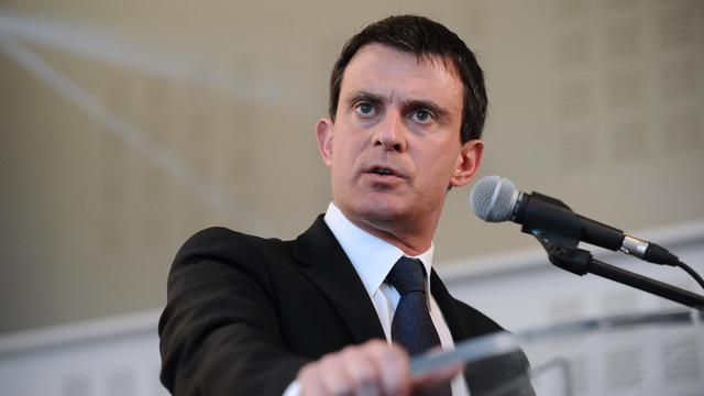 Le ministre de l'Interieur Manuel Valls à Gujan-Mestras en Gironde, le 30 mai 2013 [Nicolas Tucat / AFP]