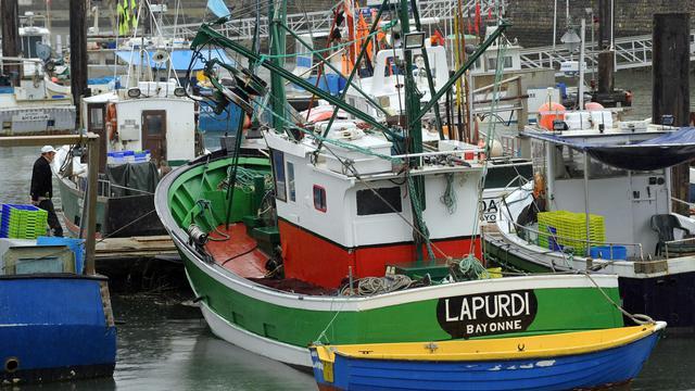 Le bateau de pêche Lapurdi dans le port of Saint-Jean de Luz, le 31 mai 2013 [Gaizka Iroz / AFP]