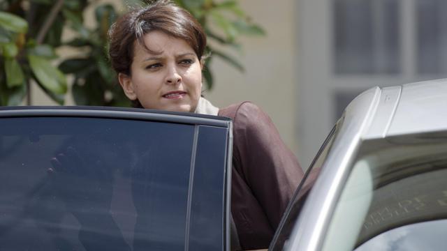 La porte-parole du gouvernement Najat Vallaud-Belkacem, le 3 juin 2013 à Paris [Fred Dufour / AFP/Archives]