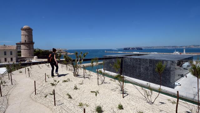 Une photo du 3 juin 2013 montre le MuCEM à Marseille [Anne-Christine Poujoulat / AFP]