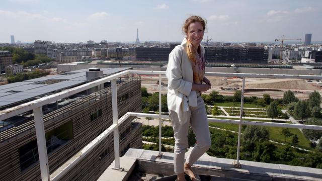 Nathalie Kosciusko-Morizet, candidate UMP à la mairie de Paris, le 4 juin 2013 [Thomas Samson / AFP]