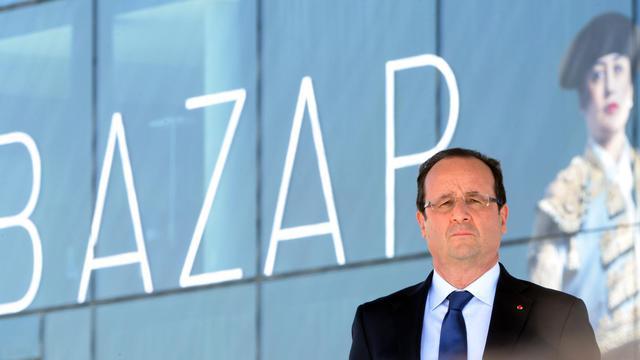 Le président de la République François Hollande à Marseille, le 4 juillet 2013 [Gerard Julien / AFP]