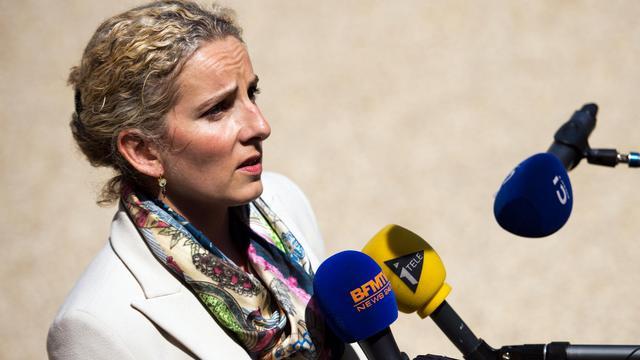 La ministre de l'Ecologie et de l'énergie Delphine Batho s'exprime devant les médias, le 5 juin 2013 à Paris [Lionel Bonaventure / AFP]