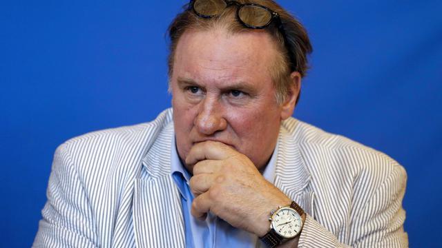 Gérard Depardieu,le 6 juin 2013 à Nice [Valery Hache / AFP]