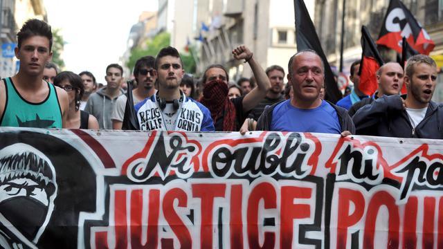 Une manifestation en hommage au militant d'extrême gauche tué lors d'une altercation avec des skinheads, le 6 juin 2013 à Paris [Frank Perry / AFP/Archives]