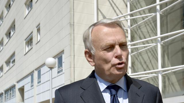 Jean-Marc Ayrault le 7 juin 2013 à Clamart [Bertrand Guay / AFP]
