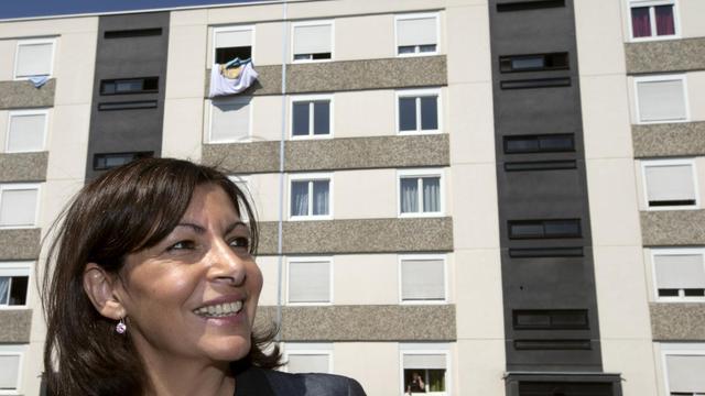 Anne Hidalgo, candidate PS à la mairie de Paris, le 6 juin 2013 à Lyon [Joel Saget / AFP]